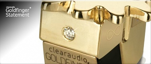 Clearaudio Goldfinger Statement MC